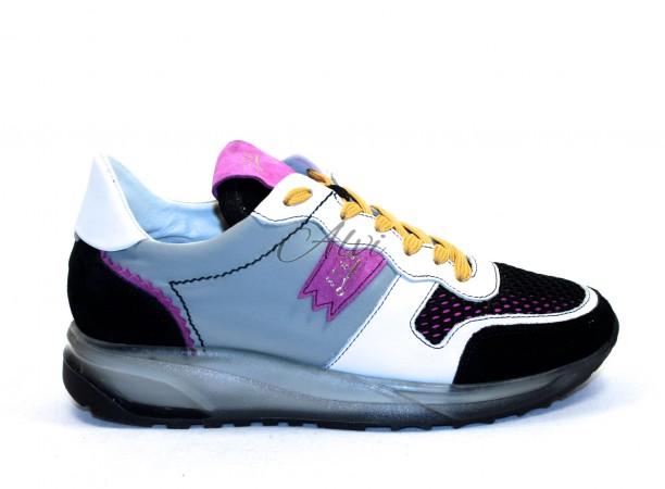 Sneakers Stau fuxia e nere