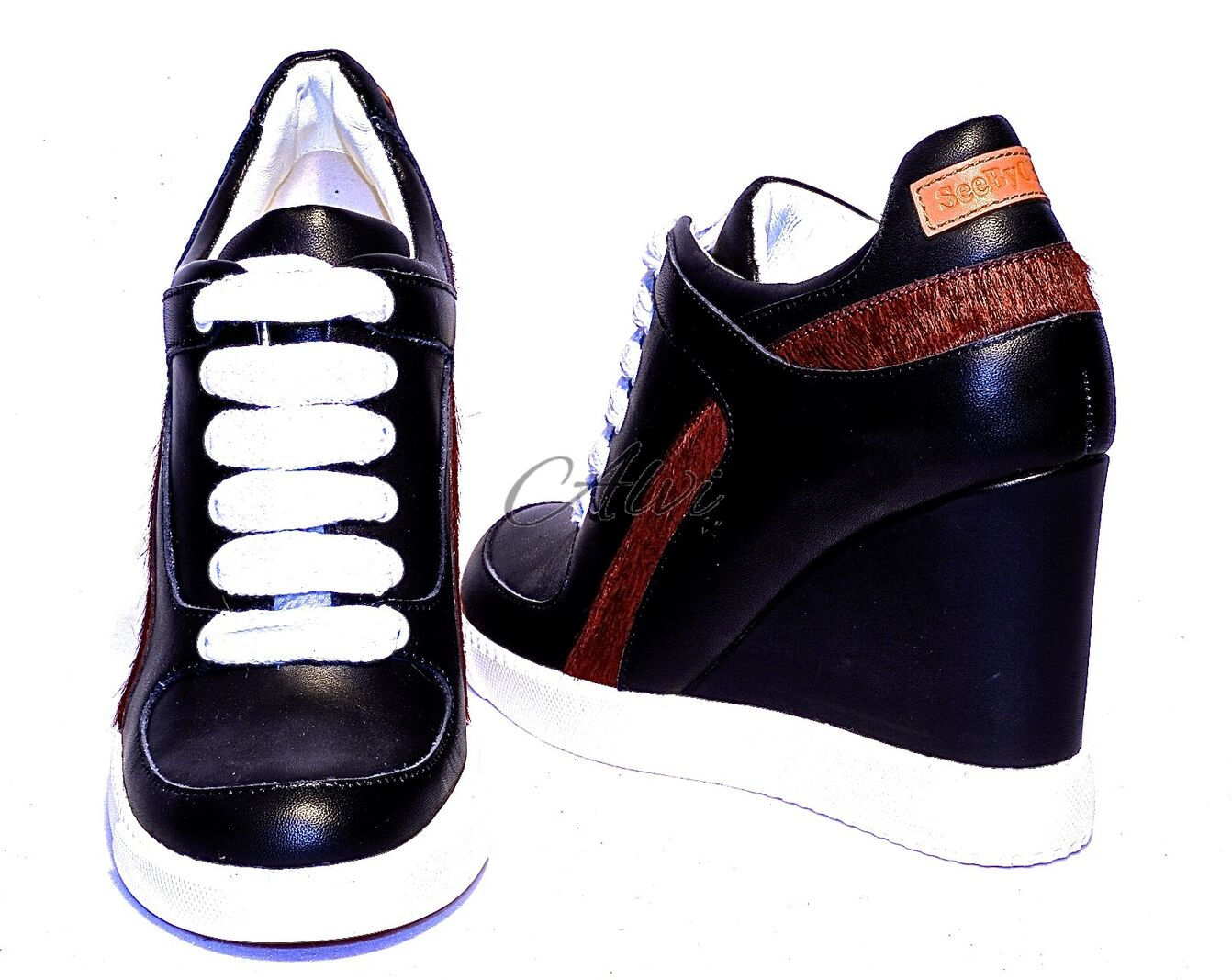 Zeppa See Alta Sneakers By Con Chloé LzMqSUpVG