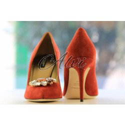 Decolleté rosse Dolce & Gabbana