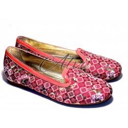 Pantofola Pluspartout fantasia rosa