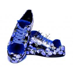 Sneakers Roberto Serpentini fantasia bluette