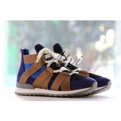 Sneakers Vionnet blu bronzo