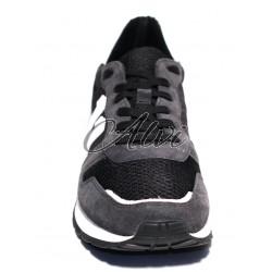 Sneakers Bikkembergs nere e grigie