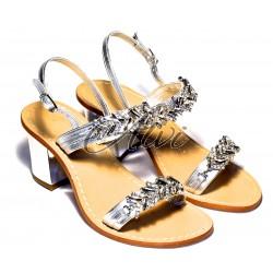 Sandali argento