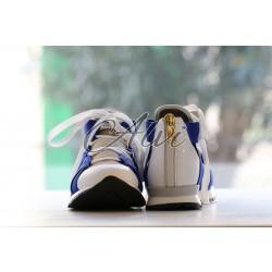 Sneakers Vionnet bianche blu